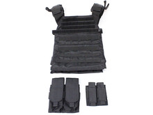 NcStar Protector plate carrier set, black