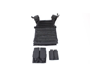 Protector plate carrier set, black