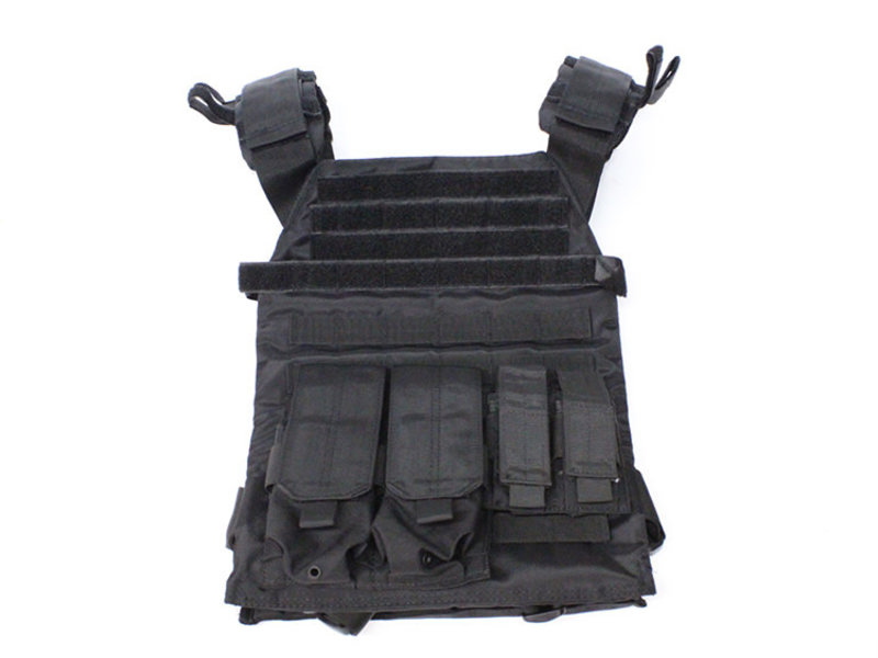 NcStar Protector plate carrier set, black