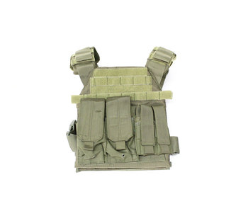 Protector plate carrier set, OD green