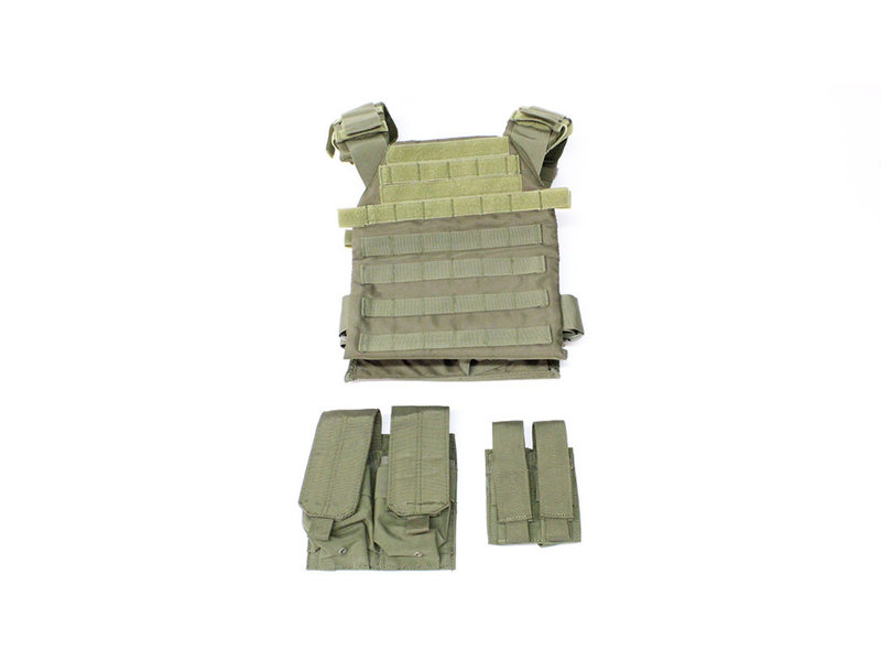 NC Star Protector plate carrier set, OD green
