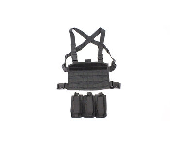 SPEARHEAD chest rig for M4 magazines, black