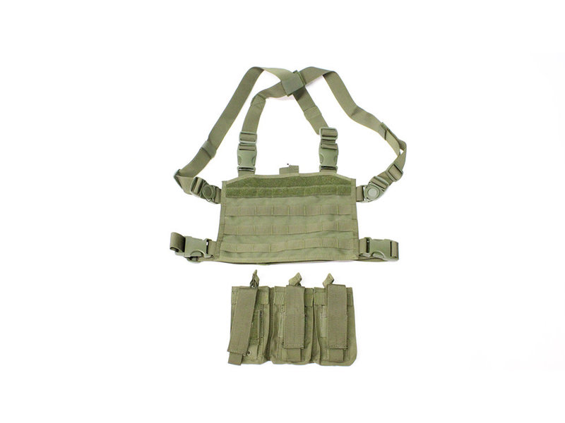 Condor SPEARHEAD chest rig for M4 magazines, OD green