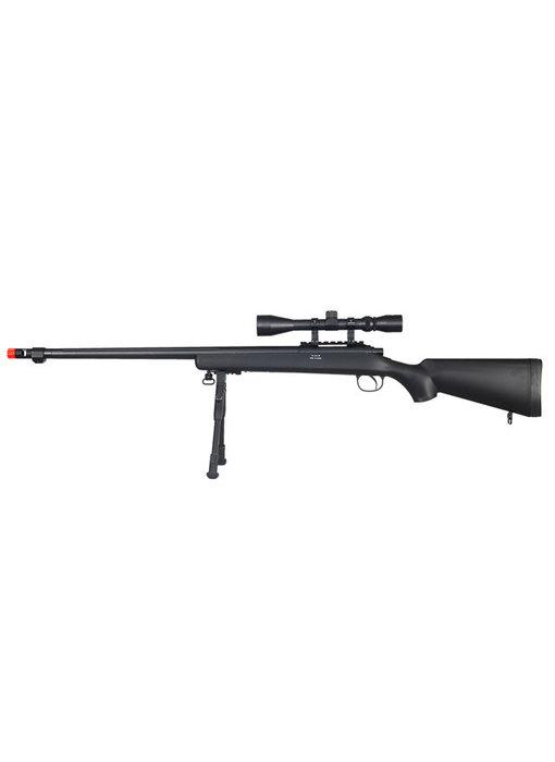 WELL MB07 VSR-10 Bolt Action Spring Sniper Rifle with Fluted Barrel