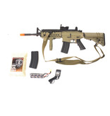 ASG ASG M4 SIR electric rifle Warfighter package, tan