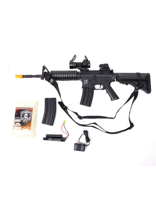 SRC M4 SOPMOD warfighter package, black
