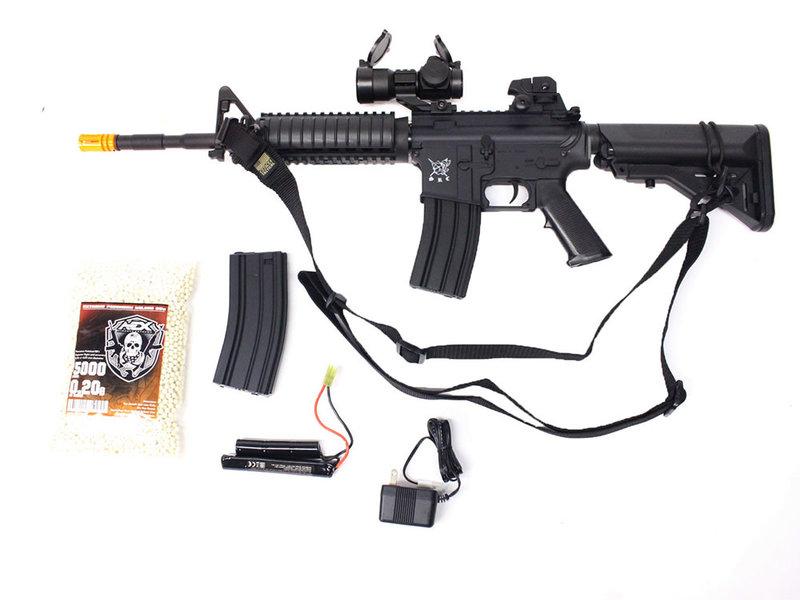 SRC SRC M4 SOPMOD warfighter package, black