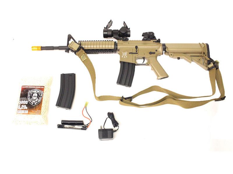 SRC SRC M4 SOPMOD warfighter package, tan