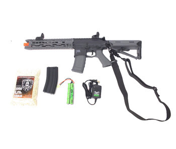 Valken ASL TRG electric rifle Warfighter package, black/gray