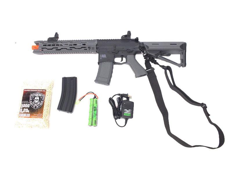 Valken Valken ASL TRG electric rifle Warfighter package, black/gray