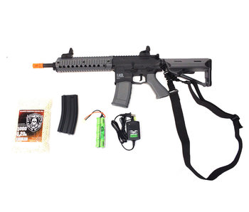 Valken ASL MOD-M electric rifle Warfighter package, black/gray