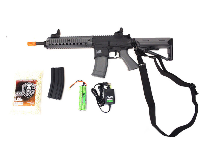 Airsoft Extreme Valken ASL MOD-M electric rifle Warfighter package, black/gray