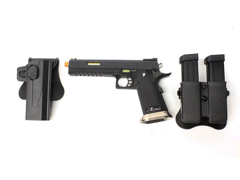 WE Tech WE 6.0 I-REX gold comp gunfighter package