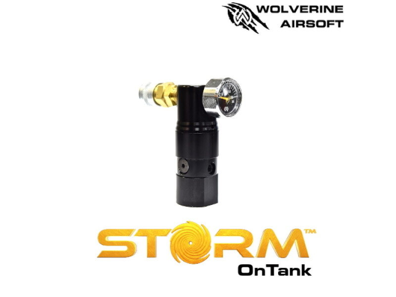 Wolverine Wolverine STORM OnTank Regulator with Standard Line Black