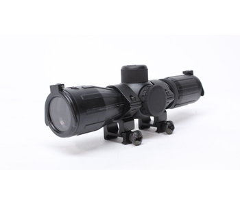 Aimsports 4X30 illuminated rubber coated compact scope