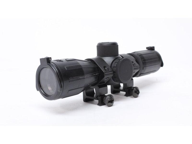 Aimsports Aimsports 4X30 illuminated rubber coated compact scope