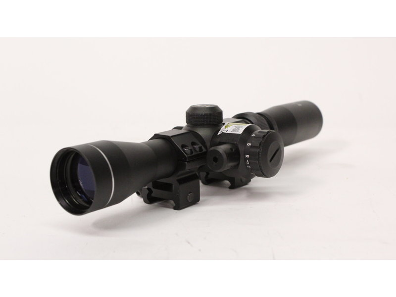 Aimsports Aimsports 2-7x32 Illuminated Reticle Long Eye Relief Scopes with Laser