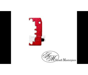 Airsoft Masterpiece HI CAPA Puzzle Trigger Base Red
