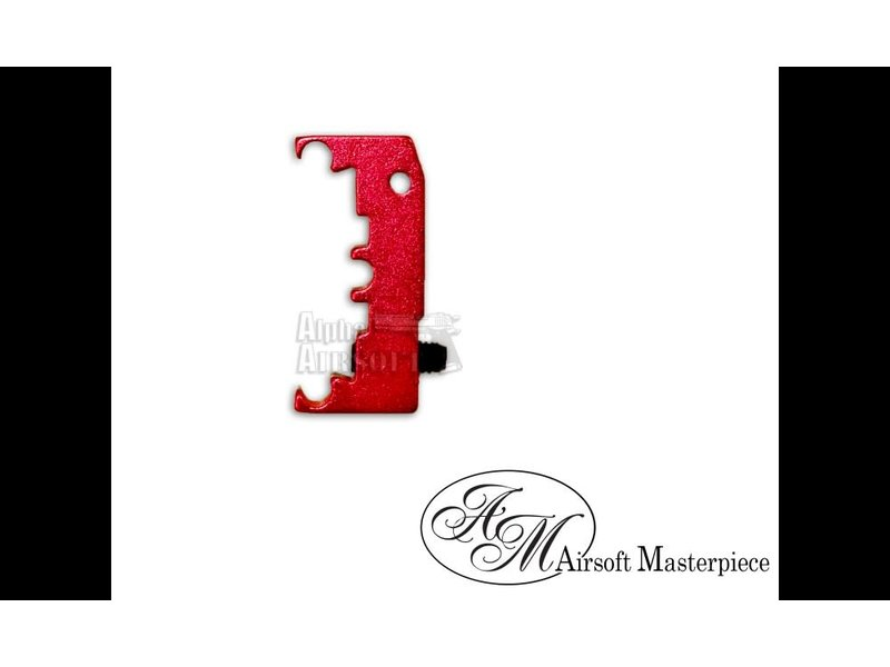Airsoft Masterpiece Airsoft Masterpiece HI CAPA Puzzle Trigger Base Red