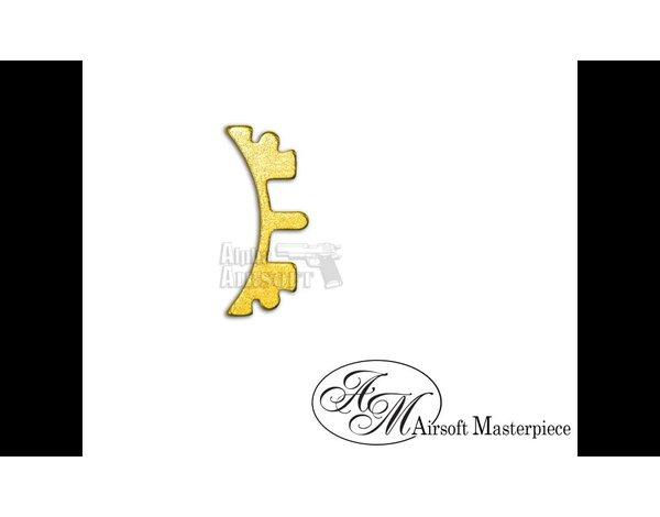 Airsoft Masterpiece Airsoft Masterpiece HI CAPA Puzzle Trigger Short Curve Short Gold