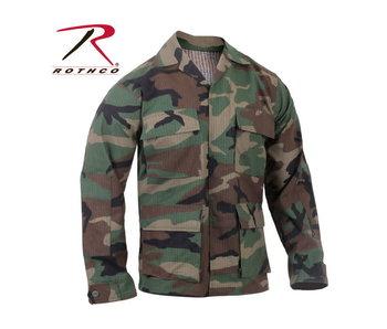Rothco Ripstop BDU Shirt , Woodland