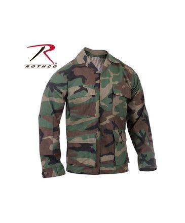Rothco Rothco Ripstop BDU Shirt , Woodland