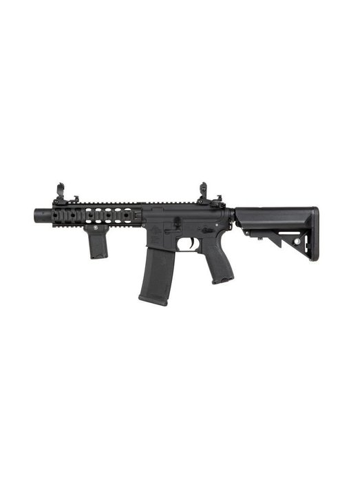 Specna Arms EDGE Series M4 AEG Rifle Licensed by Rock River Arms M4 SBR Suppressed Black