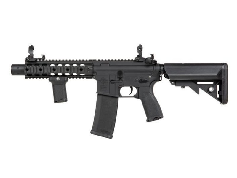 Specna Arms Specna Arms EDGE Series M4 AEG Rifle Licensed by Rock River Arms M4 SBR Suppressed Black