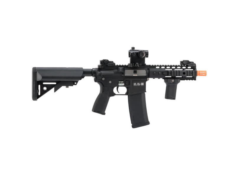 Specna Arms Specna Arms EDGE Series M4 AEG Rifle Licensed by Rock River Arms M4 PDW Keymod Black