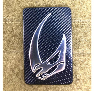Tactical Outfitters Tactical Outfitters Beskar Mudhorn Carbon Morale Patch