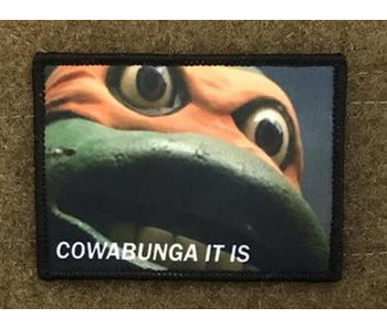 Tactical Outfitters Cowabunga Morale Patch