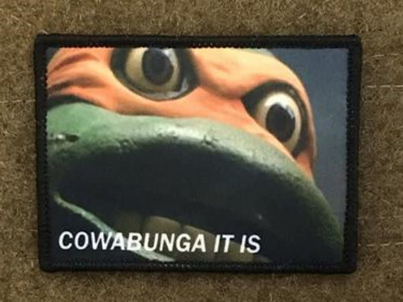 Tactical Outfitters Tactical Outfitters Cowabunga Morale Patch
