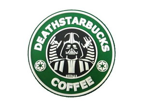 Tactical Outfitters Tactical Outfitters Deathstarbucks Coffee PVC Morale Patch