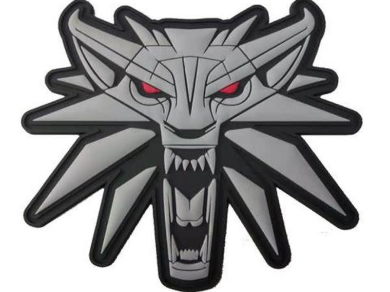 Tactical Outfitters Tactical Outfitters The Witcher - Wild Hunt Wolf PVC Morale Patch