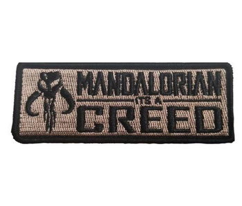 Tactical Outfitters Mandalorian Creed Morale Patch