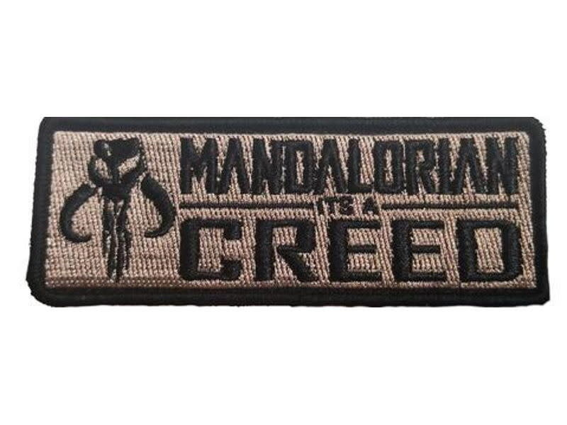 Tactical Outfitters Tactical Outfitters Mandalorian Creed Morale Patch