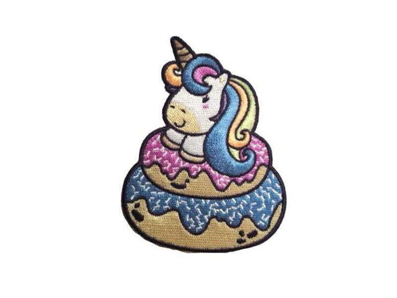 Tactical Outfitters Tactical Outfitters Insanely Cute Unicorn Series Morale Patches Unicorn 3
