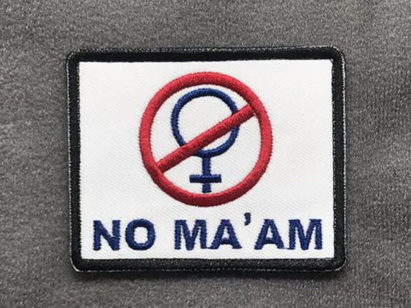 Tactical Outfitters Tactical Outfitters No Ma'am Morale Patch
