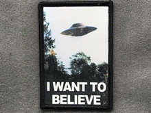 Tactical Outfitters Tactical Outfitters I Want to Believe Morale Patch