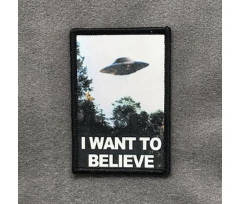 Tactical Outfitters I Want to Believe Morale Patch