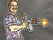 Tactical Outfitters Tactical Outfitters Fat Rambo - Hopper - Limited Edition Morale Patch