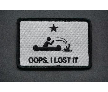 Tactical Outfitters Oops I Lost It Morale Patch