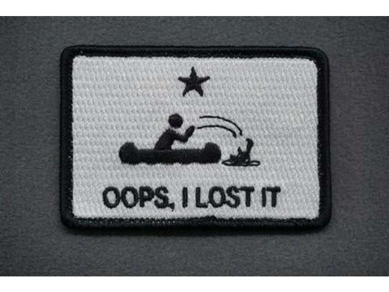 Tactical Outfitters Tactical Outfitters Oops I Lost It Morale Patch