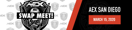 AEX San Diego Swap Meet | March 15, 2020