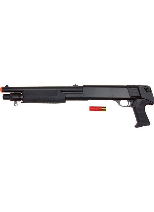 Double Eagle M56B Tri Burst No Stock Spring Shotgun Black
