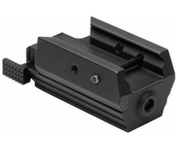 NCStar handgun red laser, weaver mount