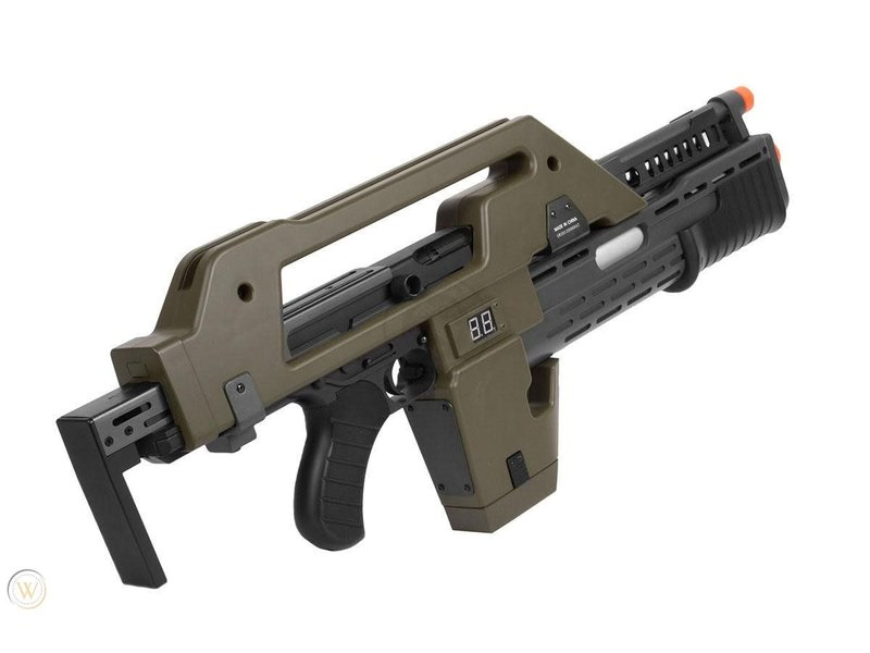 Matrix Alien Pulse Rifle AEG OD Green