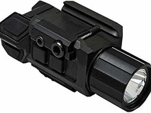 NcStar NcStar Gen3 Pistol Flashlight with Strobe & Red Laser