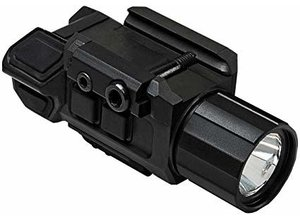 NcStar NcStar Gen3 Pistol Flashlight with Strobe & Red Laser