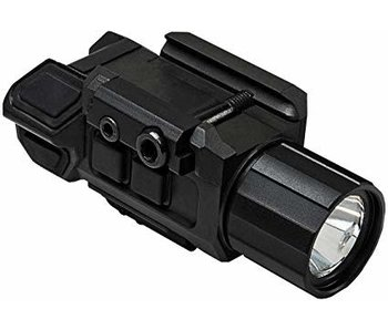 NC Star Gen3 Pistol Flashlight with Strobe & Red Laser